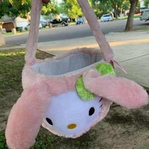 easter basket- pink hello kitty